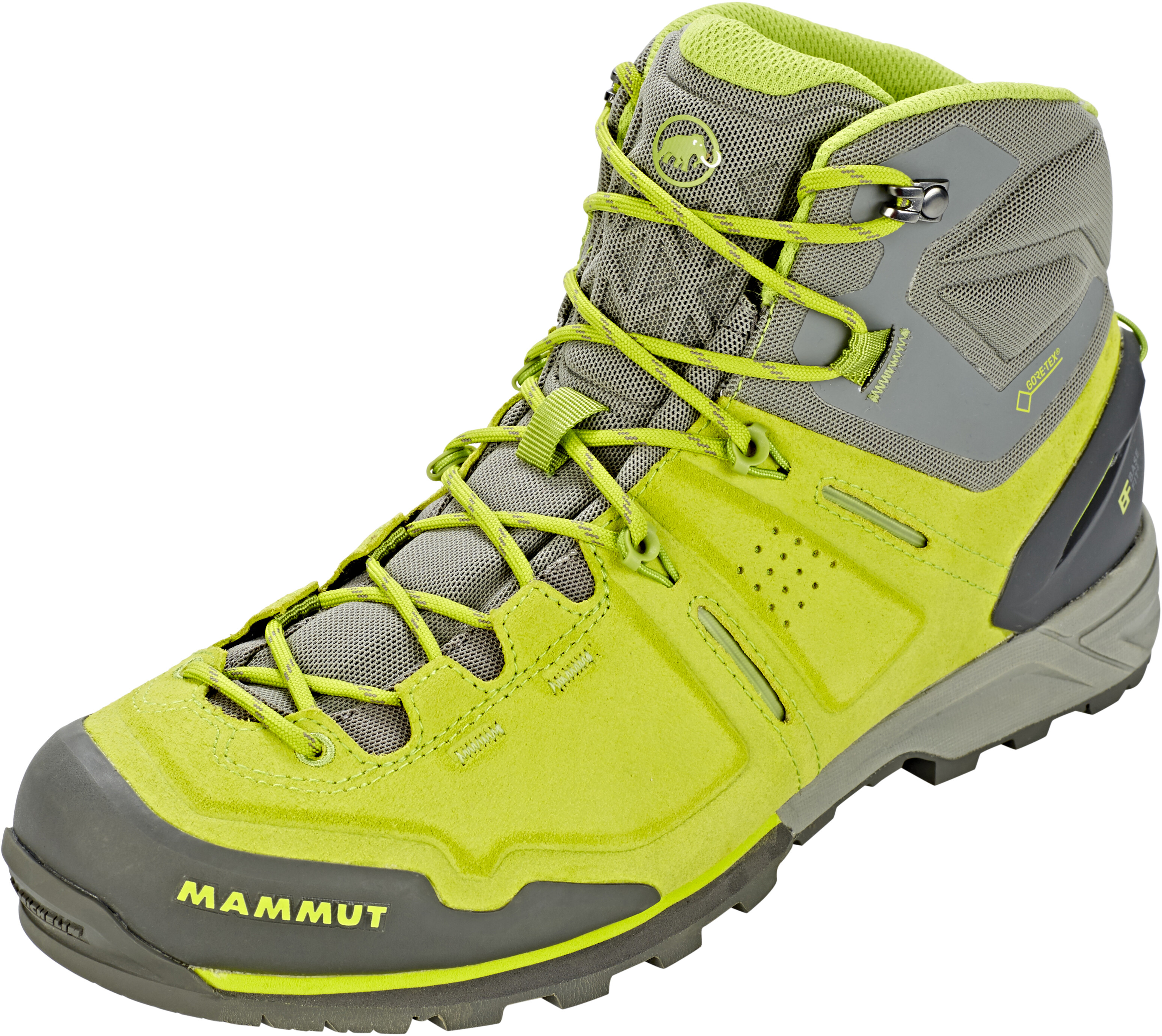 on feet images of 50% price get cheap Mammut Alnasca Pro Mid GTX Shoes Men sprout-grey